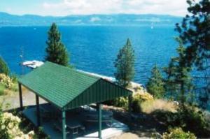 Community Beach and Picnic Area - Harbor View Estates - Lake Coeur d'Alene