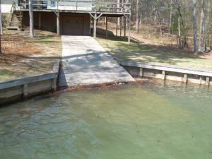 Boat ramp saves you storage money