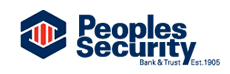 Peoples Security Bank & Trust Co. Logo