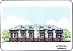 Proposed Lakeside Elevation Drawing