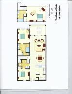 Floor Plan Unit 3B - 50 Crowne Pt Road