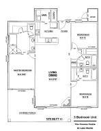 90 Crowne Pte- Unit 1 F - floor plan