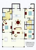 90 Crowne Pointe 1F color floor plan