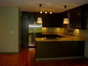 Kitchen has been updated