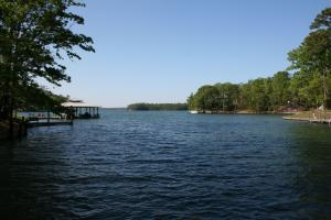 View of water from the dock