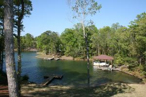 View of water from the back deck
