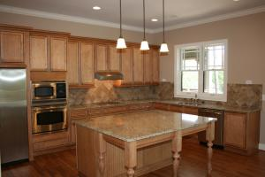 Kitchen - granite and appliances upscale