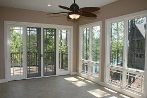 Sunroom - heated and cooled, 180 degree