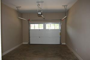 Attached garage for golf cart, car, boat
