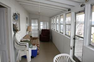 west porch