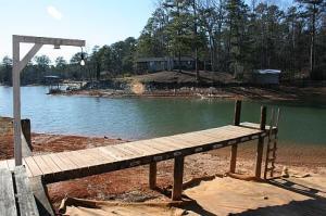 dock #2 of 3 in winter